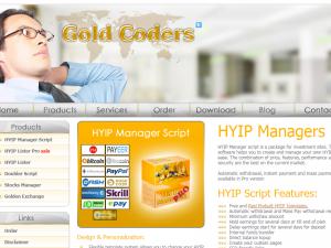 HYIP Script GoldCoders