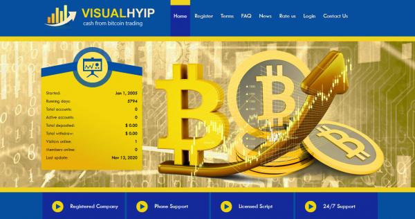 HYIP Script GoldCoders DEMO #25