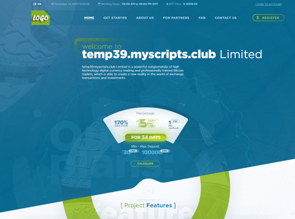 HYIP project script #39