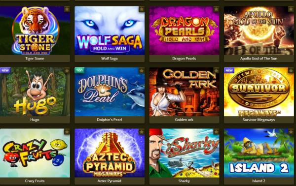 Licensed slot machines for online casino games html5